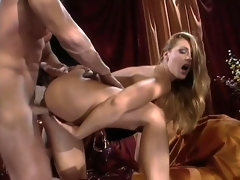 Lauren Phoenix gets doggy style sex and begs nigh execrate boned like a dog