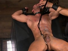 BDSM anal be useful to hot male Diego Vena