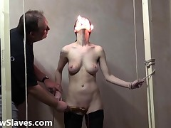 Gruesome facial bdsm of ready-mixed Emily
