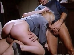 Odd retro bang chapter with a naughty porn babe in action