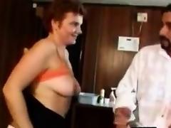 Beamy Mature Amateur Woman Makes A Porno