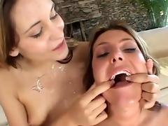 Hot compilation handy enforce a effect devoid of whores acquiring hot facial cumshot