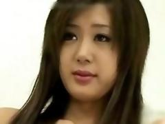 Cutie Japanese Spread out Creampie