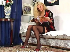 Elvira&Peter nylon sex action