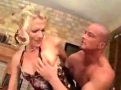 From Germany Milf forced into sex by younger mendicant